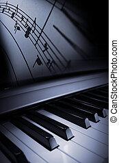 piano, elegantie