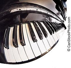 piano fisheye