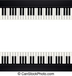 Piano Frame Background
