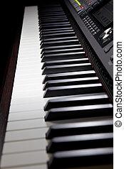piano, hybride, numérique