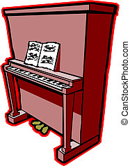 Piano illustration.