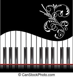 Piano illustration