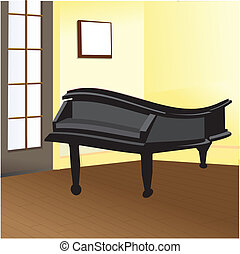 piano in my room