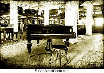 piano, jazz, barre