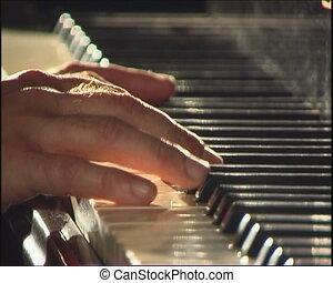 piano, keyboard.
