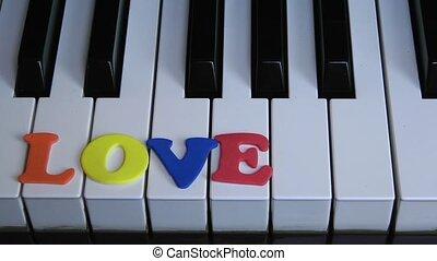 piano, miłość