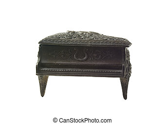 Piano Music Box Front