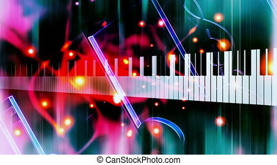 Piano Music Looping Background