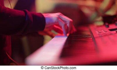 piano, musicien, jeux