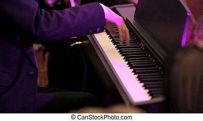 piano, musique, jouer, classique, homme
