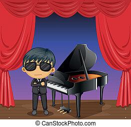 piano, pianista