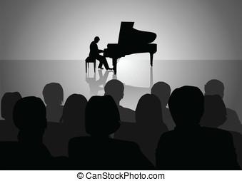 piano, recital
