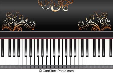 piano, redemoinhos