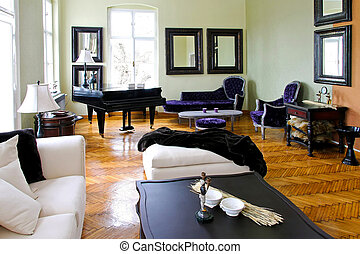 piano, sala