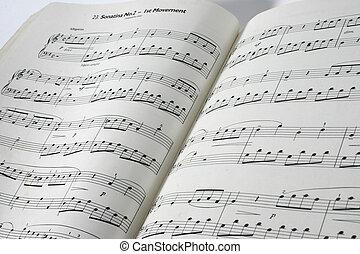 sheet music - piano sheet music
