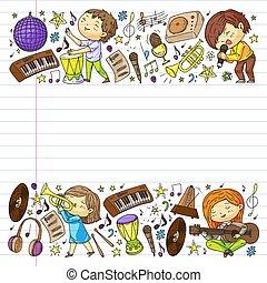 piano, subscribtion, karaoke., chant, downloading., chansons, apprendre, internet., ligne, comment, musique, jeu, education, musical, guitare