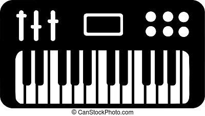 piano, teclado electrónico