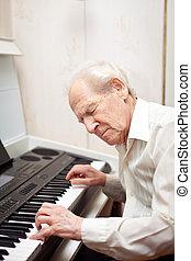 pianoforte esegue