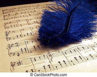 pianoforte, fogli