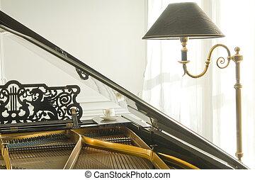 pianoforte, grande