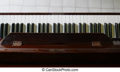 pianoforte musical instrument - playing the piano art,...