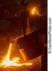 pianta acciaio