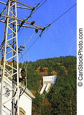 pianta, ecologia, -, potere idroelettrico