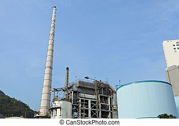 pianta, industriale