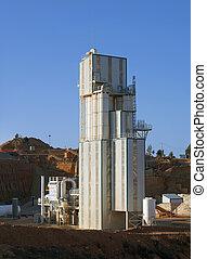 pianta, manifatturiero, cemento