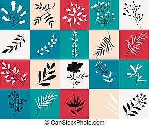 piante, icone