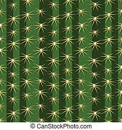 piante, modello, seamless, struttura, fondo, cactus