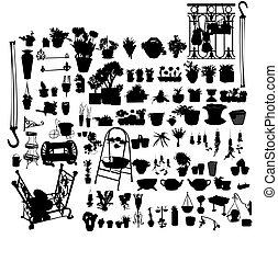 piante, set
