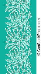 piante, verticale, modello, seamless, sfondo verde, smeraldo