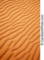 piasek, pustynia, czerwony