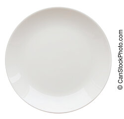 piastra, bianco