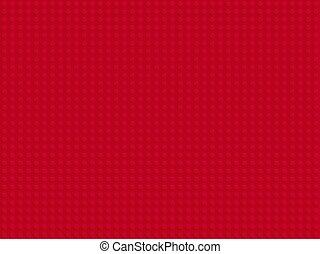 piastra, blocchi, appartamento, modello, seamless, plastica, disegno, costruttore, rosso