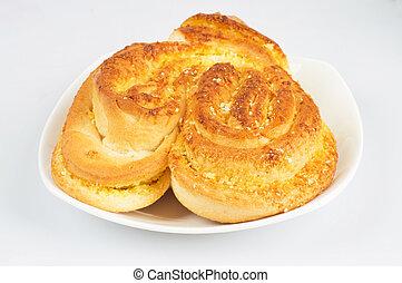piastra, bread