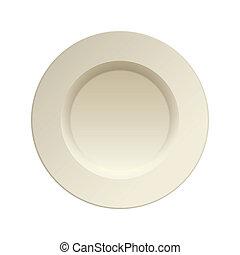 piastra, cina porcellana, cena