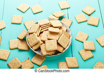 piastra, cracker