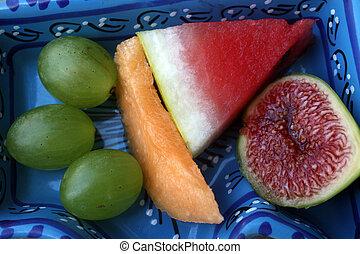 piastra frutta