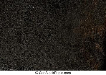 piastra, immagine, usato, closeup, barbecue
