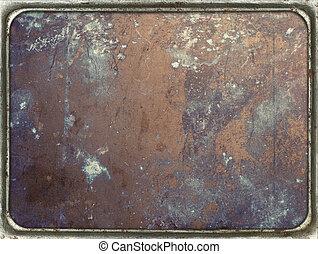 piastra metallo