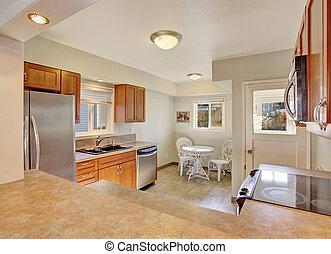 piastrella, moderno, floor., cucina