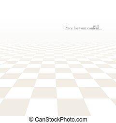 piastrella, perspective., pavimento