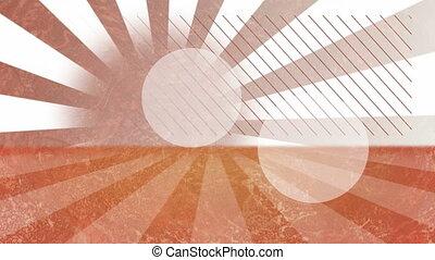 piaszczysty, spirala, tło, seamless, -