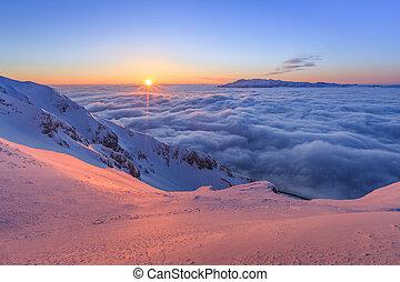 piatra, craiului, montañas, rumania