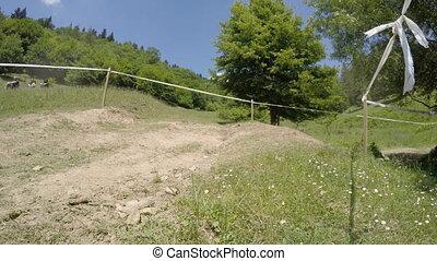 Dacia Duster car in race - Piatra Neamt, Romania - May 31,...