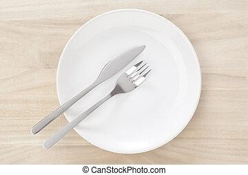 piatto, pietanza, argenteria