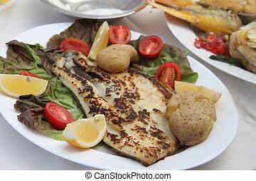 piatto, pietanza, fish