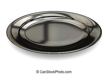 piatto, pietanza, nero